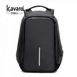 Kavard anti theft backpack Multifunction USB Charge Men 15inch Laptop Backpacks School Bags Mochila