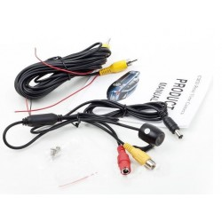 Waterproof High-definition 135 Degree Color car rear view camera.