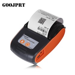GOOJPRT PT210 Portable Wireless Thermal Printer 58MM Bluetooth Thermal Printer Portable Wireless Rec