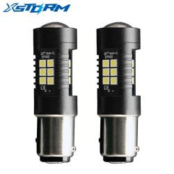 2Pcs 1157 BAY15D Led Bulb P215W 21 3030SMD Auto Leds Bulbs Brake Tail Lamp Car Backup light 12V 24V