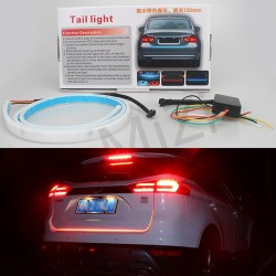 Car-styling DRL LEDs Daytime Running Light Strip Trunk Light with Side Turn Signals Rear lights Car