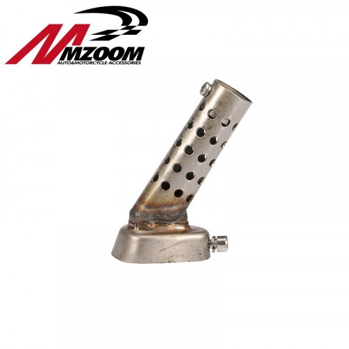 Mzoom -Muffler for Motorcycle Exhaust db Killer Muffler Adjustable Exhaust Silencer