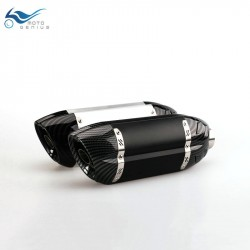 Motorcycle Exhaust Pipe  Modified Exhaust Muffler CBR600  MT07  Z800 ninja er6n z1000 TTR YBR YZF RS