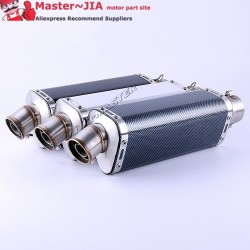 JIA Motor - Universal Motorcycle Modified yoshimura Exhaust Muffle pipe GY6 CBR CBR125 CBR250 CB400