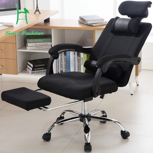 Human engineering computer chair home office chair  cloth lifting reclining gaming revolving chair