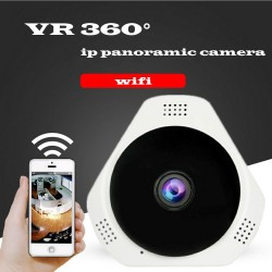 wifi ip panoramic  camera wireless VR 360 software V380