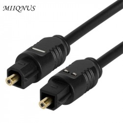 New OD22 Gold Plated Digital Audio Optical Optic Fiber Cable Toslink SPDIF Cord