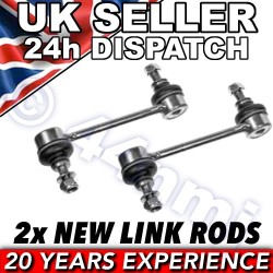 ALFA ROMEO 147 156 FRONT 2 Stabiliser Stabilizer bar drop link rods