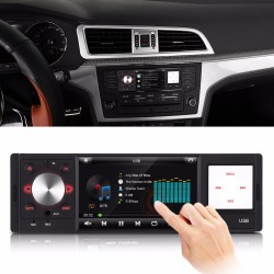 4inch Car Radio Audio MP5 Player HD Digital Screen Car Stereo FM AM AUX USB SD Steering Wheel contro
