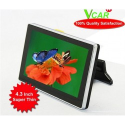 Super Thin Digital 4.3 Inch Car Monitor