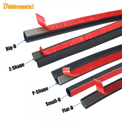 8 Meter 800CM Car Styling Seal Strip Sealing Edge Trim Weatherstrip Noise Insulation Fo