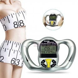 Hot saling  body health monitor digital LCD fat analyzer BMI meter weight loss tester calorie calcu