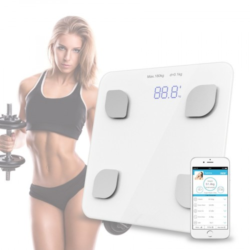 Bluetooth Scale body Bathroom Body Scales Glass Smart Household Electronic Digital Floor Weight Balance