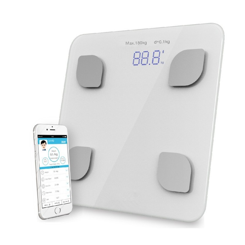 Cheap Bathroom Scales Free Delivery: Bluetooth Scale Body Bathroom Body Scales Glass Smart
