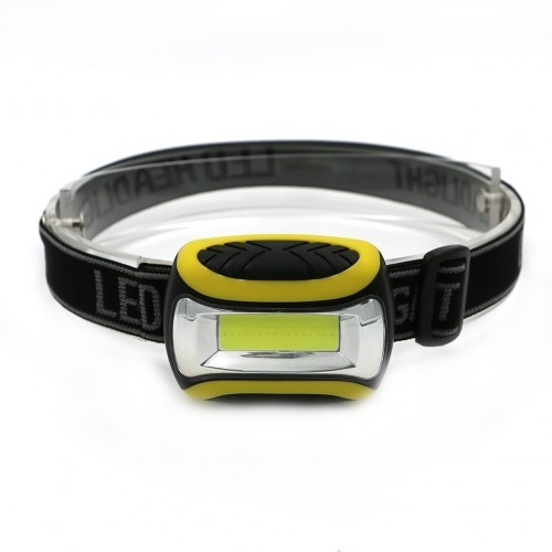 COB LED Headlamp Headlight Frontal Head Lamp 4 Mode Energy Saving Flashlight Linterna For Outdoor Sp