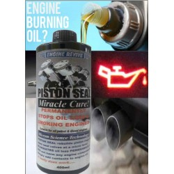 PISTON SEAL - Miracle Cure CUTS ENGINE OIL LOSS rebuilds surface imperfections