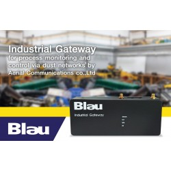 Blau Wireless Industrial Gateway IOT SmartMesh Dust Networks Technology
