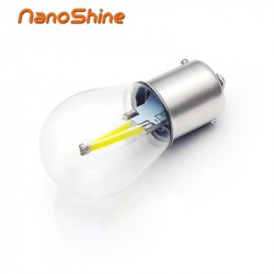 Nanoshine newest P21W LED ba15s 1156 led filament chip car light S25 auto vehicle reverse turning bulb lamp DR