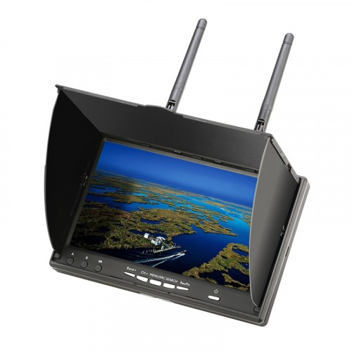 Eachine LCD5802D 5802 58G 40CH 7 Inch FPV Monitor with DVR Build-in Battery For RC Drone FPV Quadcopter ToyRe