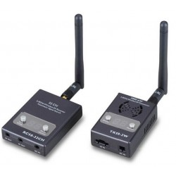 FPV 58GHz 2000mw 32 Channels Wireless AV Transmitter TX58-2W and Receiver RC58-32CH For FPV system