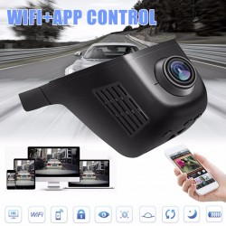 1080P Car WiFi Hidden Camera Video Recorder DVR G-sensor Dash Cam Night Vision