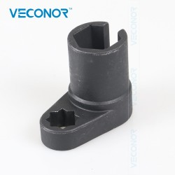 Veconor 22mm 12 Universal Oxygen Sensor Socket Wrench Offset Removal Flare Nut Socket Tool