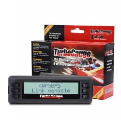 TurboGauge IV Auto Trip Computer Scan Tool Digital Gauge 4 in 1 Vehicle Computer OBDIIEOBD Car Trip Computer