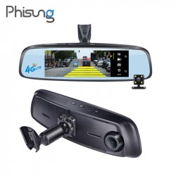 "7.84"" 4G Special bracket Car Camera Mirror Android GPS DVR with two cameras WIFI dash cam ADAS Remote Video Recorder"