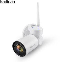 GADINAN 1080P 2MP Yoosee Mini PTZ 2.8-12mm 4XZoom IP Camera WiFi Outdoor Onvif Audio P2P