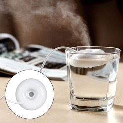 Mini USB Donut Humidifier Air Purifier Aroma Diffuser for Home Office Car