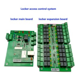 Locker access control system ,TCP/IP,manage 20pcs locks