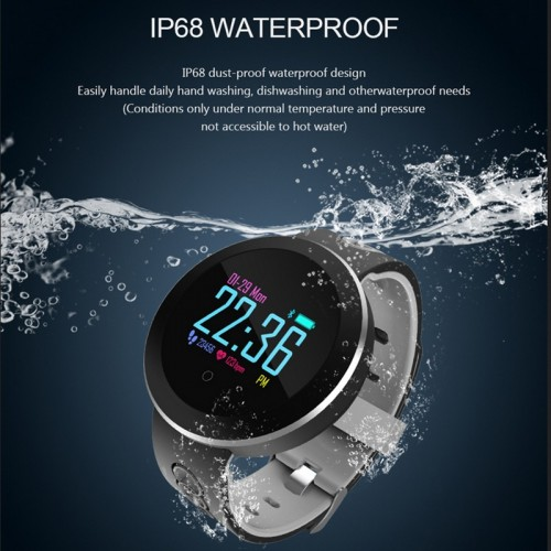 Q8 Pro Smart Watch IP68 Waterproof Wristband Blood Pressure Heart Rate Monitor Smart Band Sports Tracking Smart Bracelet