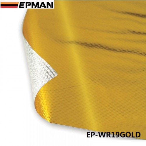 SELF ADHESIVE REFLECT-A-GOLD HEAT WRAP BARRIER High Quality 39in.x 47in.
