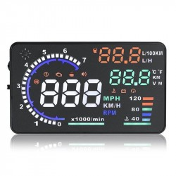 Car Head Up Display OBD2 Projector A8 5.5 Inches