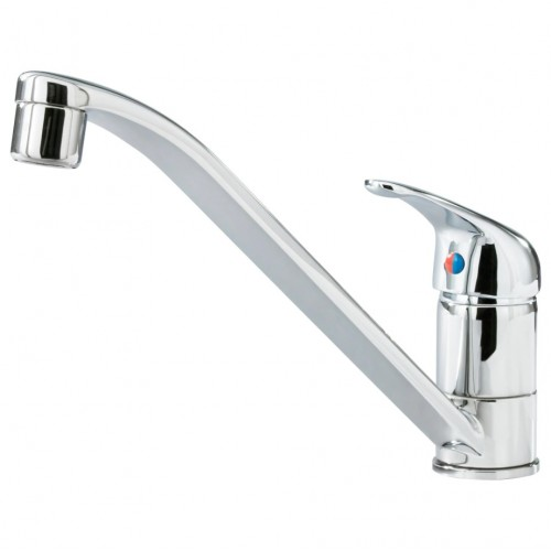 LAGAN Single-lever kitchen mixer tap, chrome-plated
