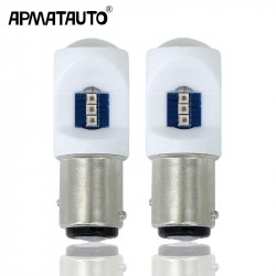 Apmatauto 2x 45w with CREE chips 1157 LED P215W BAY15d Daytime Running Light DRL Bulbs For 2015-up Jeep Reneg