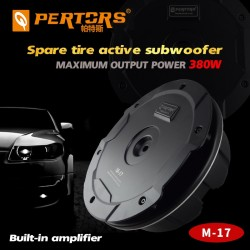 Spare Tire Subwoofer Built in Power Amplifier