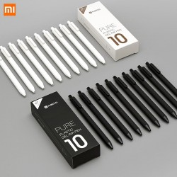 10Pcs/Lot Xiaomi KACO 0.5mm Xiomi Mi Signing P E N Gel Ink Smooth Writing Durable Signing Black Refill
