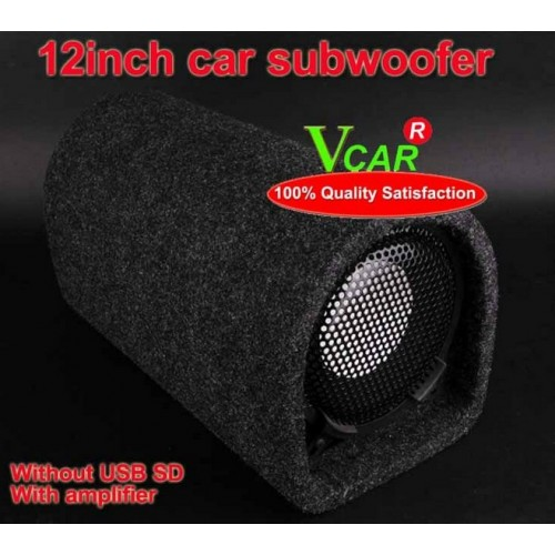 High Power 12 Inchs Ladder shape car subwoofer.