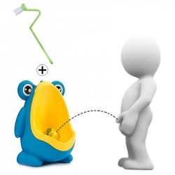 Kids Frog Potty Toilet Urinal Pee Trainer Wall-Mounted Toilet Pee Trainer Penico Pinico Children Baby Boy Bath