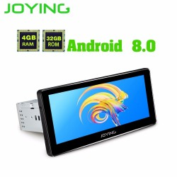 JOYING latest 4GB RAM 8 core Android 80 car head unit autoradio support carplay GPS 1DIN Universal HD 88 R