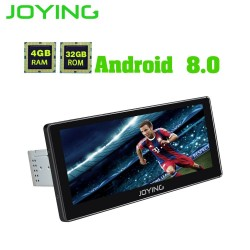 JOYING latest car radio Android 80 4GB RAM 1025 Touch Screen PX5 Octa Core 1 din Support iPhone Zlink GPS