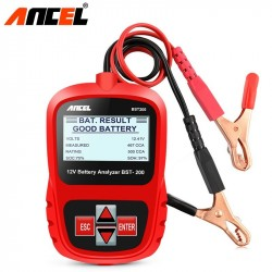 ANCEL Bst200 Car Battery Tester Multi-language 12V 1100CCA Battery System Detect Automotive Bad Cell Battery D