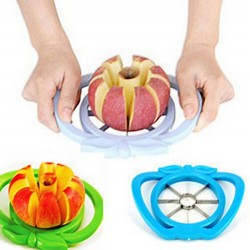 Kitchen Apple Slicer Corer Cutter Pear Fruit Divider Tool Comfort Handle for  Kitchen Apple Peeler  Fast Shipp