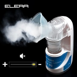 ELERA Health Care Asthma Inhaler Medical Mini Handheld Automizer Children Adult Care Inhale Nebulizer Home Ult