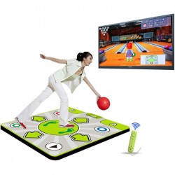Double Person Non-slip Dance Dancing Pad Mat for Nintendo Wii Console Game
