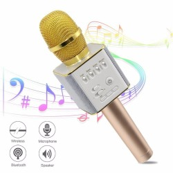 2018 Newst Bluetooth Wireless Microphone Karaoke Machine for Kid Children Adult Portable Handheld Home KTV Mik