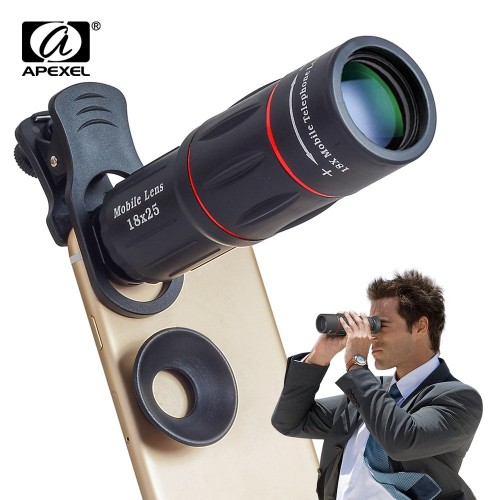 Lens Zoom  For Mobile Smartphones With Tripod