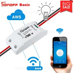 Itead Sonoff Smart Wifi Switch DIY Smart Wireless Remote Switch Domotica Wifi Light Switch Smart Home Controll