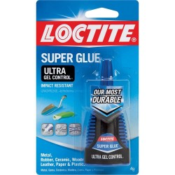 LOCTITE - Ultra Gel Control Super Glue - 4 Grams